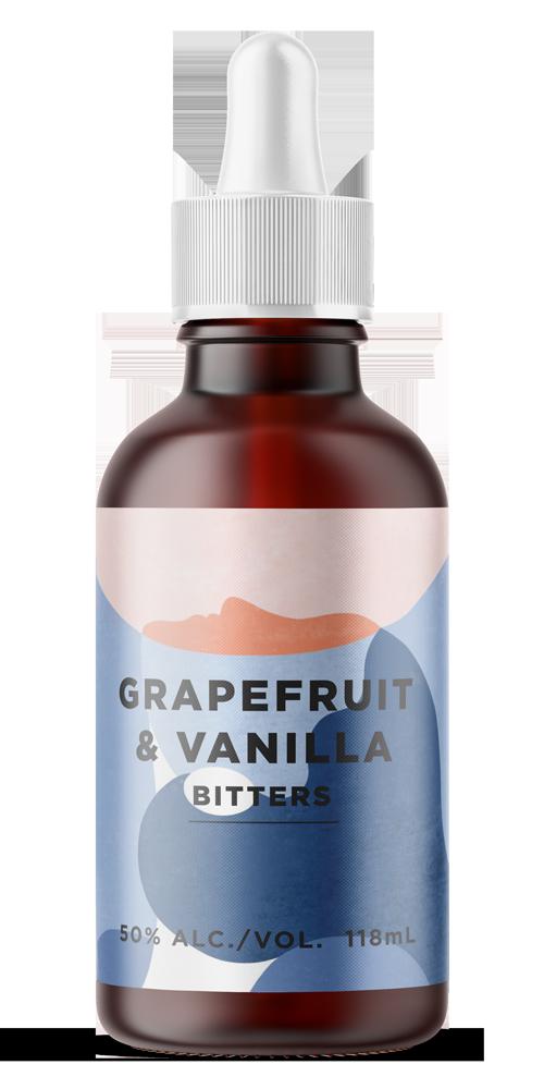 Grapefruit & Vanilla Aromatic Bitter beer can