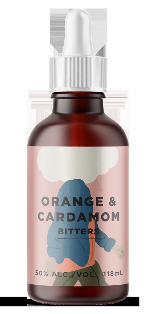 Orange & Cardamom Aromatic Bitter beer can