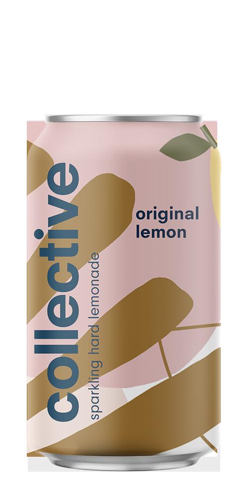 Classic Lemon Sparkling Hard Lemonade beer can