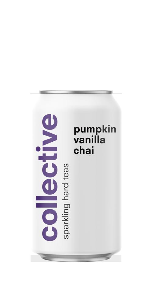 Pumpkin & Vanilla Chai Sparkling Hard Tea beer can